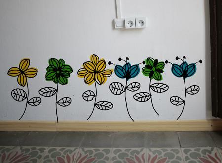 Vinilos de flores