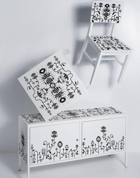 Decoraci n vinilos para muebles for Vinilos muebles