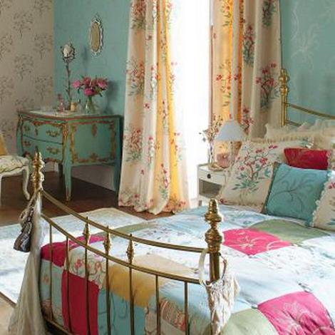 Decoraci n dormitorio vintage for Retro bedroom ideas for girls