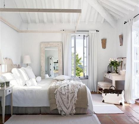 Dormitorio vintage decoraci n - Dormitorio vintage chic ...