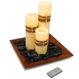 velas led control remoto