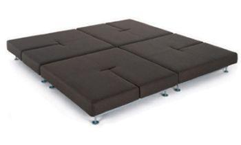 sofa daimer cuero modular