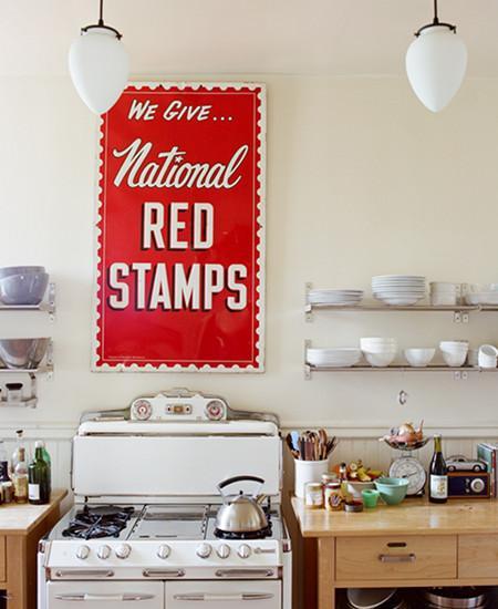 Este mural en la cocina queda perfecto