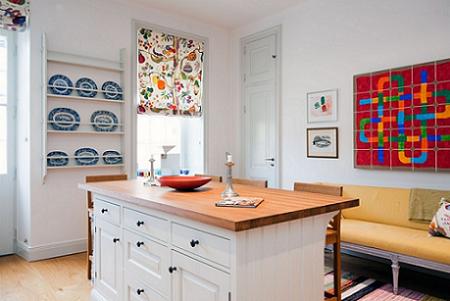 La cocina es un espacio acogedor