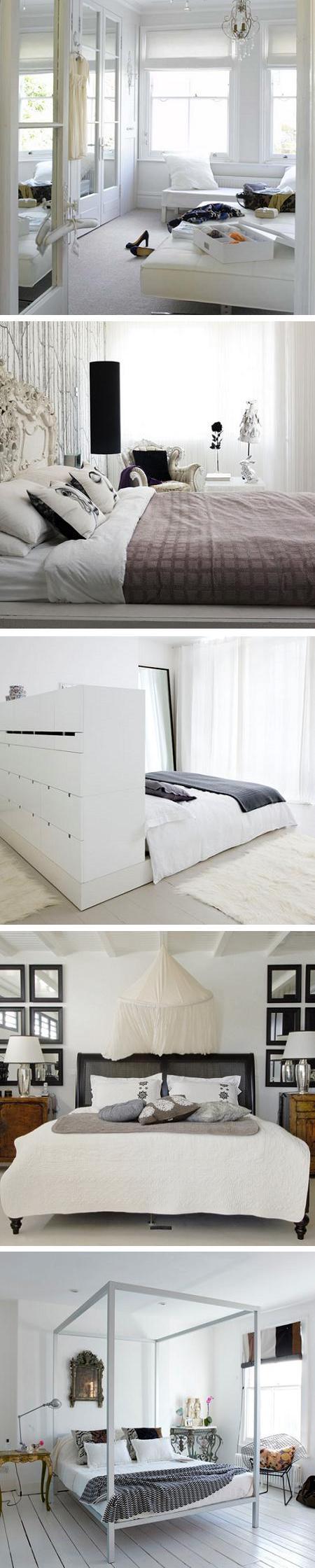 25 fotos de dormitorios en color blanco