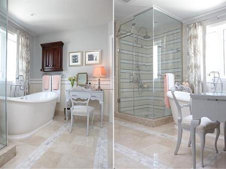 Cuarto de baño vintage – Decoración