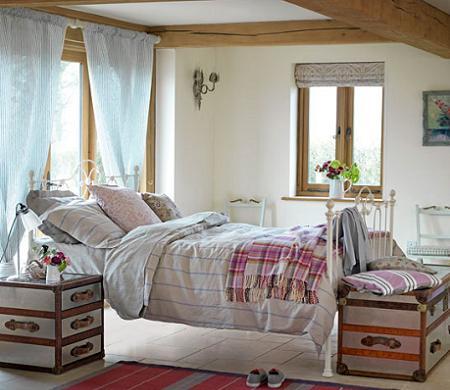 Cortinas para ventanas decoraci n for Cortinas para banos rusticos