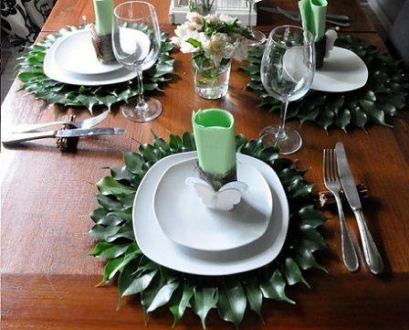 decorar la mesa