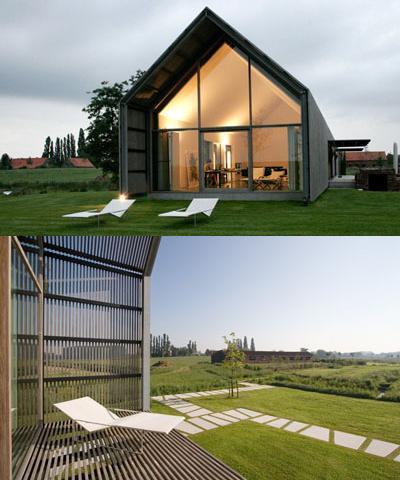 casa granero de diseño