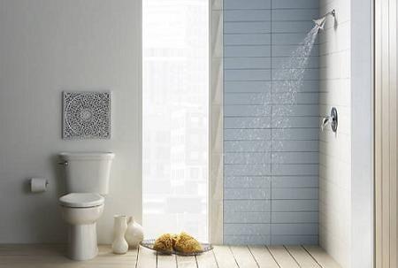 Baño en blanco de Ikea