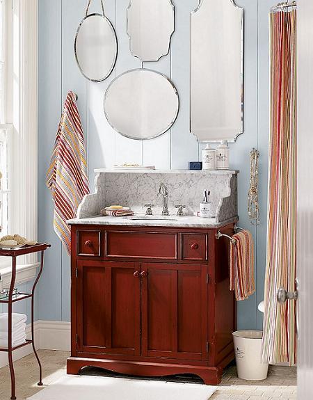 Baño de estilo vintage!