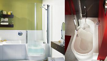 Bañera ducha twinline tub