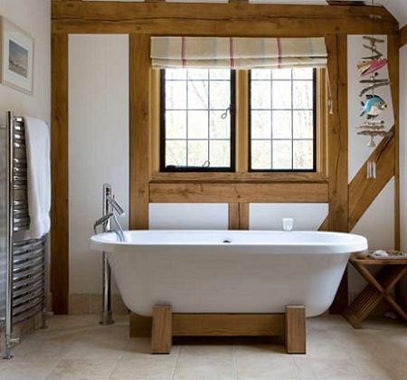 Baño de casa de campo