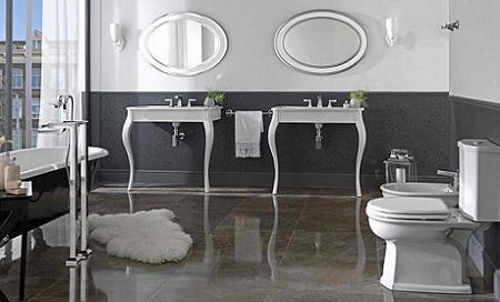 Baño vintage Porcelanosa