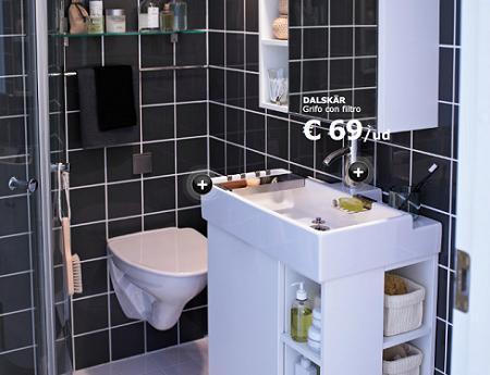 Baño pequeño de Ikea