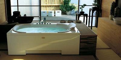 bañera hidromasaje con funcion shiatsu
