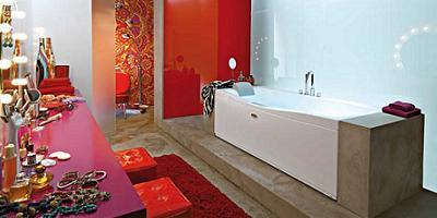 bañera de diseño, hidromasaje de Jacuzzi