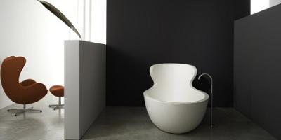 bañera de diseño para un baño de lujo, Arne de Rapsel