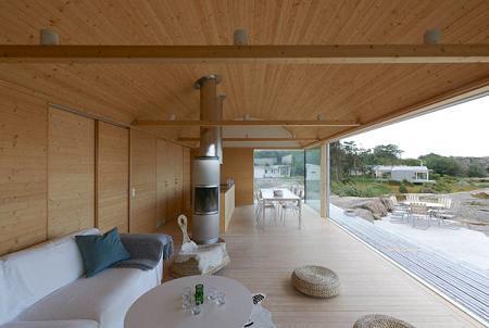 Casa de verano abierta