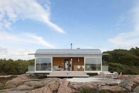 Casa de verano nórdica