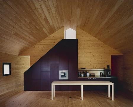 Decorar una casa de madera