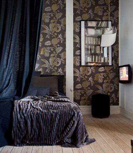 Apartamento de estilo masculino