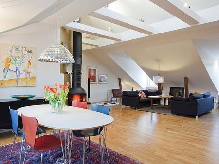 Decoración de interiores contemporanea