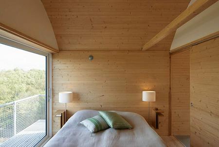 Habitación en la casa de verano