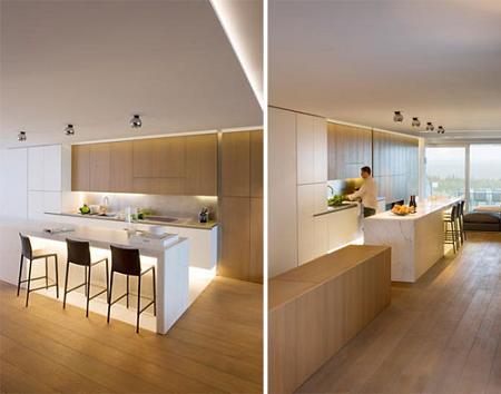 Duplex de decoración minimalista