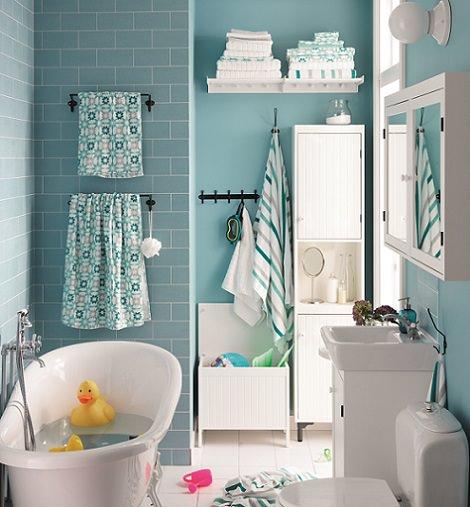 baños del catálogo de Ikea 2015