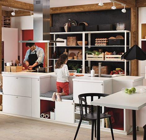 cocinas del catálogo de Ikea 2015