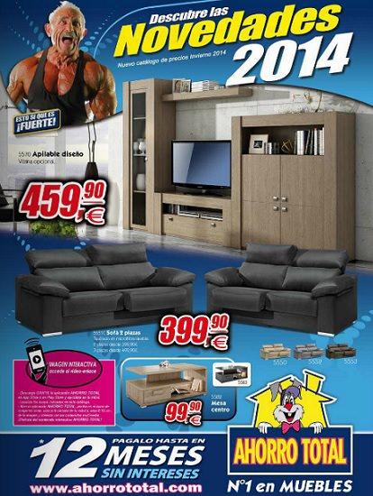 folleto muebles ahorro total