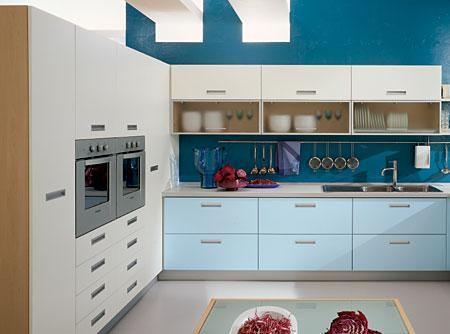 Cocinas pequeñas y ordenadas, de diseño