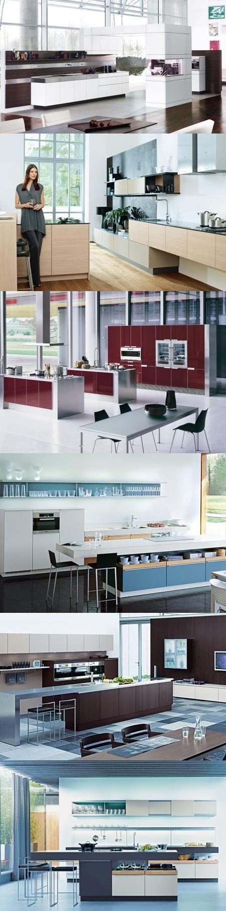 Cocinas de diseño, bien resueltas