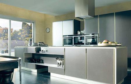 Cocina de aluminio Porcelanosa