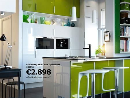 Cocina americana de Ikea