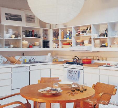 Cocina cuadrada