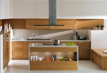 Cocina de madera Schmidt