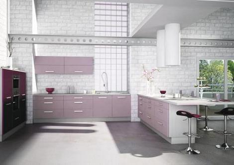 Cocina violeta