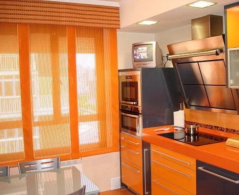 diferentes estilos de cortinas para darle elegancia a tu cocina