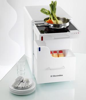 cocina movil electrolux