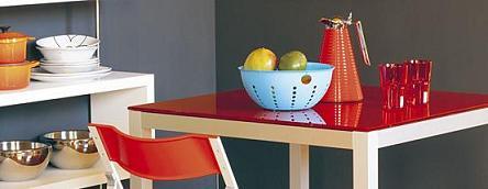 mesa con color