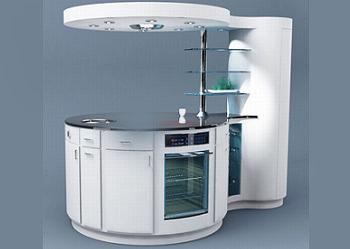 Ejemplos de cocinas peque as bien resueltas y con estilo for Cocinas modernas en espacios reducidos