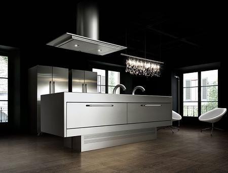 Modelos de cocinas en acero ixoxidable