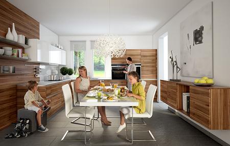 Cocina de madera de The Singular Kitchen