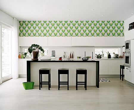 Papel pintado para cocinas