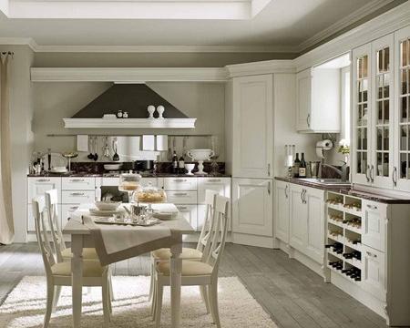 Cocinas de decoración rústica