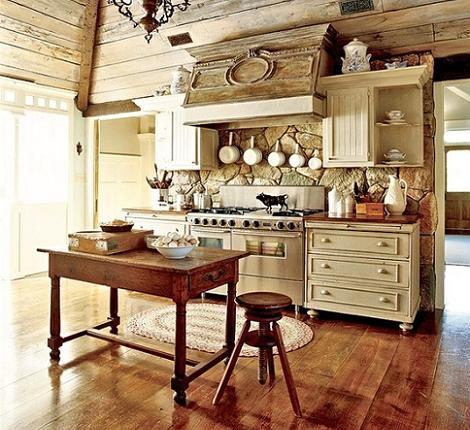 Imagen de cocina rústica