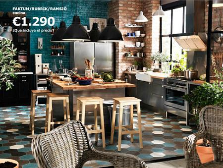 Salón, cocina y comedor