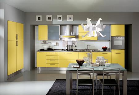 Cocinas amarillas